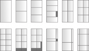 steel door layouts