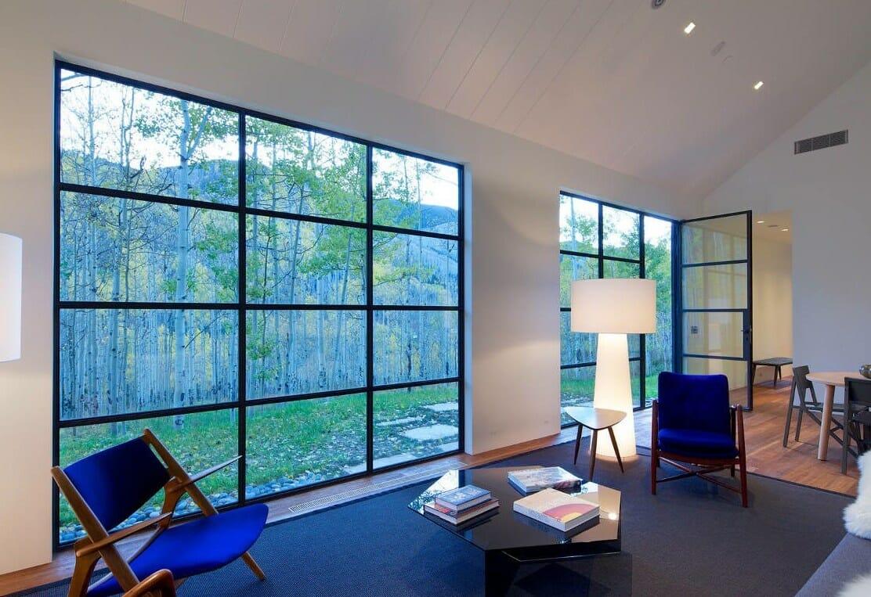 Steel windows and doors batch installation